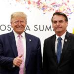 Bolsonaro recebe apoio de Trump para OCDE