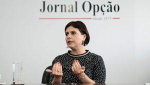Andrea Vulcanis, secretária de Meia Ambiente | Foto: Fernando Leite/Jornal Opção