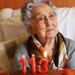 Idosa viu duas guerras mundiais e agora, aos 113 anos, derrotou o coronavírus