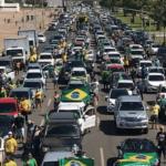 Manifestantes voltam às ruas em defesa de Bolsonaro