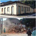 Patrimônio histórico em Planaltina foi desrespeitado e causa indignação