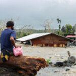 Tufão deixa dez mortos e três desaparecidos nas Filipinas