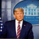 Trump diz que vence eleição se contarem votos legais