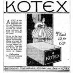 O absorvente íntimo e a Primeira Guerra Mundial