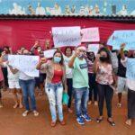 Novo Gama faz manifestação por permanência de transporte interestadual. Veja abaixo-assinado