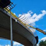 DER/DF: Guarda-corpo do Viaduto Ayrton Senna ganha nova estrutura