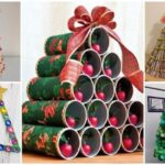 As árvores de Natal mais originais feitas com material reciclado