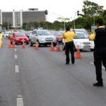 Trânsito no Eixo Monumental terá interdições no domingo (06/12)