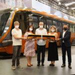 Brasil nos trilhos: Marcopolo Rail avança no setor ferroviário e lança seu primeiro VLT