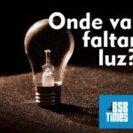 CEB: onde vai faltar luz – 09 à 11/02