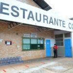 Restaurantes comunitários de portas abertas
