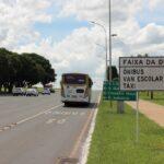 Detran inicia fiscalização na faixa exclusiva do Eixo Monumental