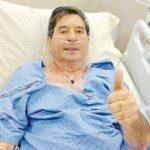 Boletim médico de Maguito aponta nova infecção pulmonar