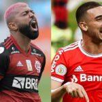 Internacional e Flamengo fazem 'final' do Brasileirão 2020 neste domingo
