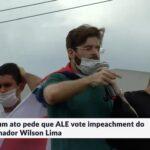 Advogado Marco Vicenzo, autor do impeachment do governador do Amazonas, o compara a um satanás e faz oração em trio