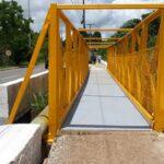 Uma nova passarela liga Sobradinho a Sobradinho II