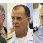 Comandantes do Exército, da Marinha e da Aeronáutica deixam cargos
