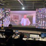 Embaixador da Paz, deputado Luis Miranda, faz palestra para milhares de Coreanos em prol da pacificação das Coreias