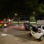 Condutora com sinais de embriaguez provoca acidentes em Taguatinga
