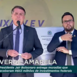 Bolsonaro entrega moradias em São Sebastião DF