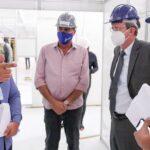Ministério Público do DF visita obras dos hospitais de campanha