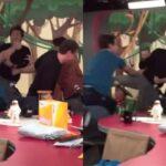 Vídeo: elenco e convidado brigam ao vivo no Pânico