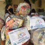 Colégio Adventista doa mais de 2 mil toneladas de alimentos para instituição de Brasília