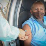 Rodoviários do DF começam a ser vacinados