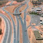 Viaduto do Sudoeste começa a ser construído