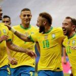 Brasil passa fácil pela Venezuela na abertura da Copa América