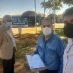 PROS vai à Administração de Ceilândia protocolar carta de liberação ao deputado Fernando Fernandes