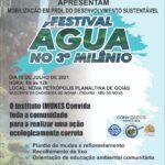 Planaltina Goiás terá neste domingo (18) atividade em defesa das nascentes