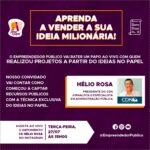 Entrevista ao vivo: Helio Rosa, nesta terça (27), as 15 h, fala da captação de recursos públicos