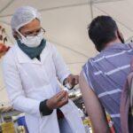 Mais de 135 mil vacinados no mutirão em três dias