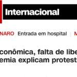 A CNN e os protestos em Cuba. Porque a imprensa (também) está em silêncio?