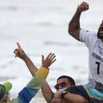 Primeiro ouro do Brasil vem do surf