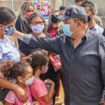 Ibaneis inaugura Cras no Sol Nascente e promete convocar concursados