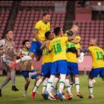 Brasil é ouro no futebol!