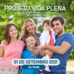 Projeto Pós Covid vai atender em 1° de setembro; Saiba mais