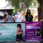 Milhares de voluntários fazem campanha contra violência doméstica em Brasília