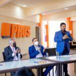 PROS recebe filiação de Pablo Valente em evento na sede nacional