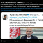 "Brazilian left party celebrates Taliban ""victory"""
