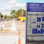 62 anos depois, Setor de Rádio e TV Sul é urbanizado pela primeira vez