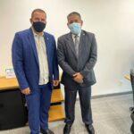 Guarda Jânio recebe visita de cortesia do Presidente Nacional do PROS