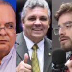Vídeo: Luiz Miranda atende Fraga ao vivo e resposta contra Ibaneis viraliza nas redes