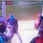 Vídeo Bagaça: foi bater em mulher levou uma surra na rua